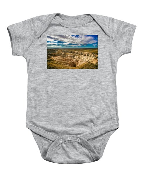 South Dakota Bad Lands.... Baby Onesie