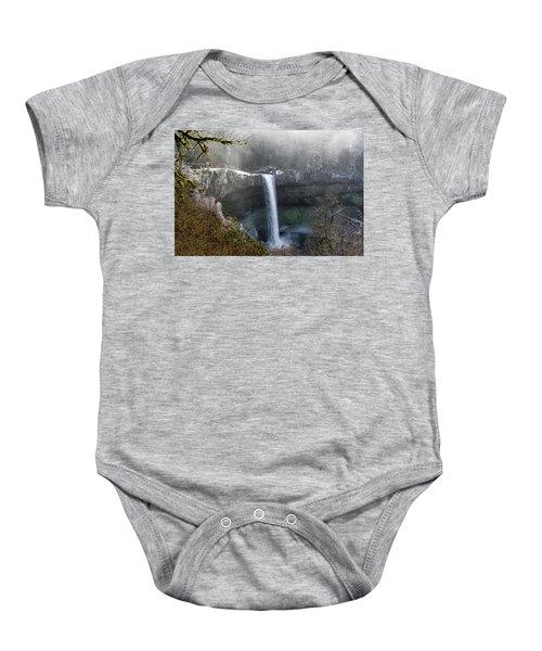 South Falls Shroud Baby Onesie