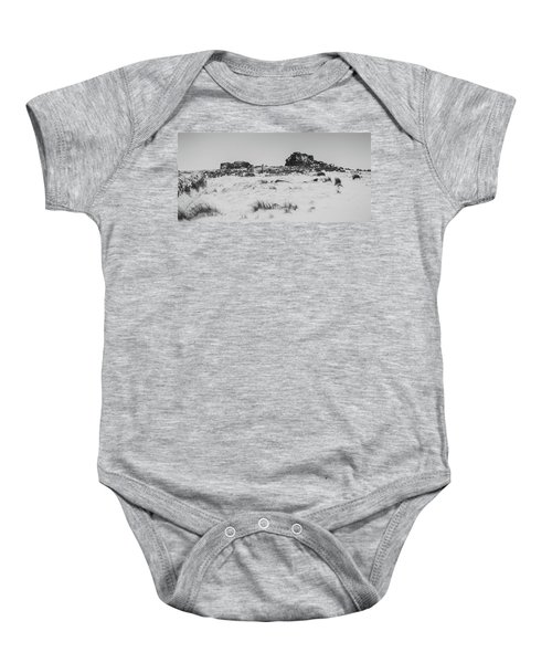 South Hessary Tor In The Snow Baby Onesie