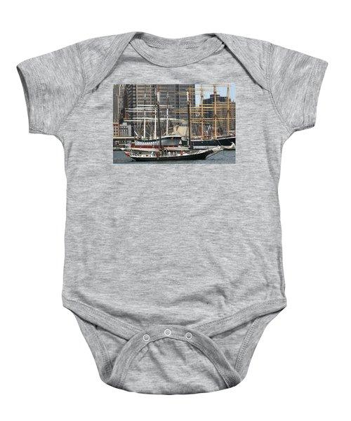 South Street Seaport Pioneer Baby Onesie