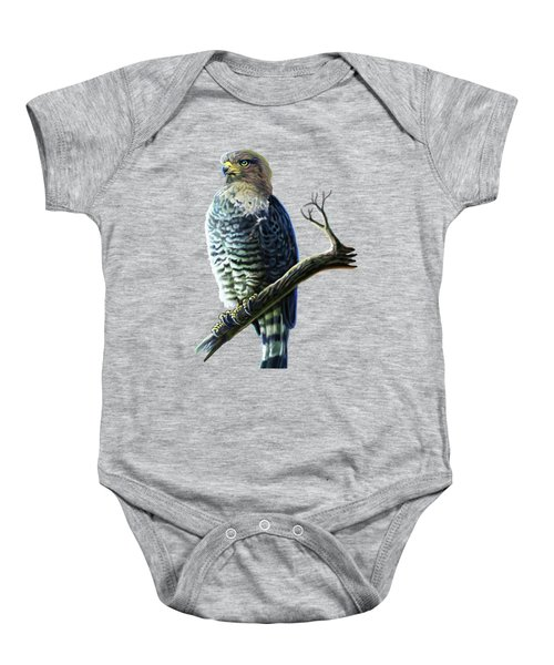 Southern Banded Snake Eagle Baby Onesie