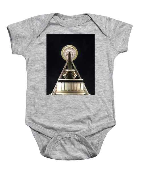 Space Needle Baby Onesie