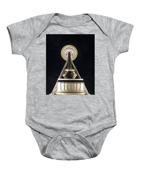 Space Needle Baby Onesie