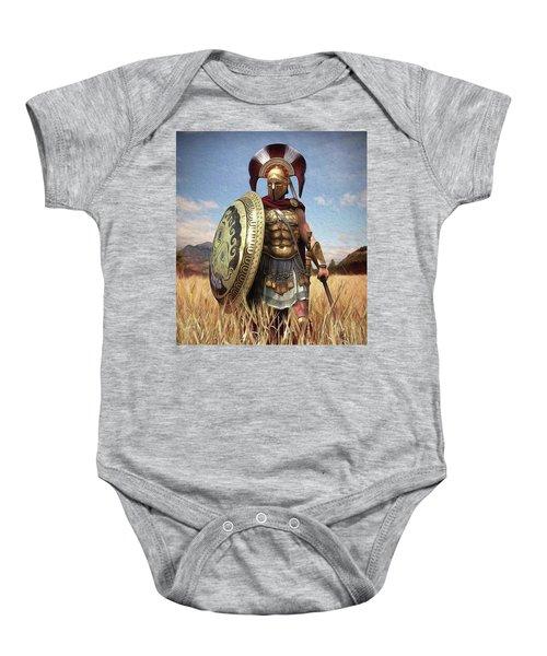Spartan Hoplite - 02 Baby Onesie