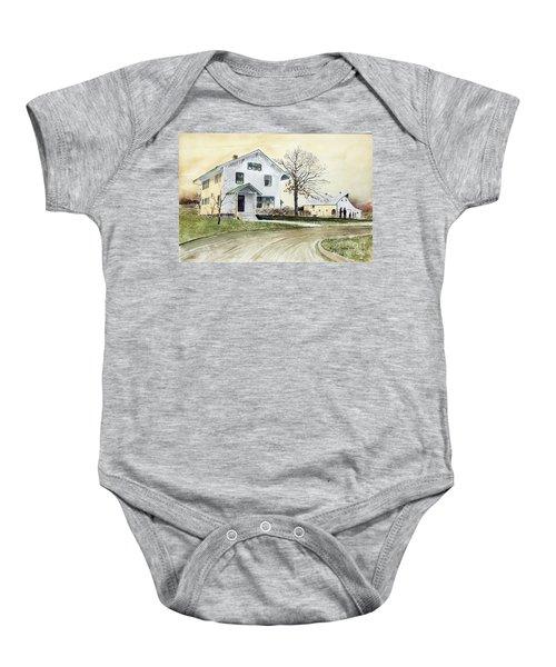 Sperry Homestead Baby Onesie