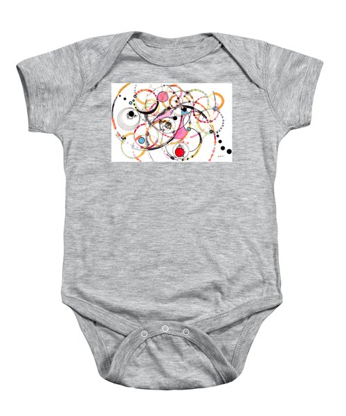 Spheres Of Influence Baby Onesie