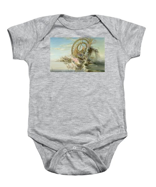 Spiral Of Time Baby Onesie