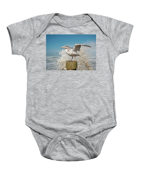Splash Gull Baby Onesie