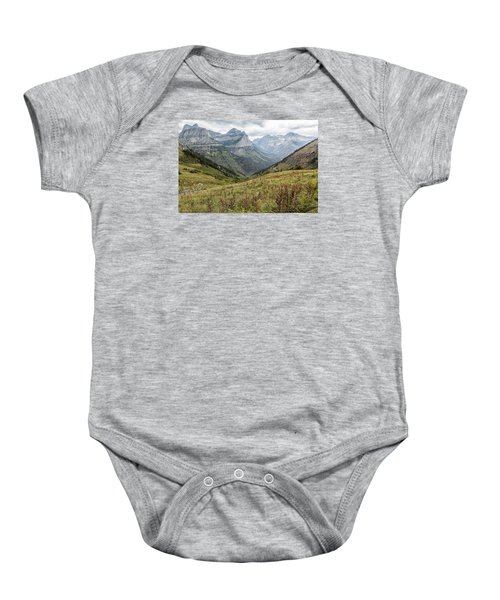 Splendor From Highline Trail - Glacier Baby Onesie