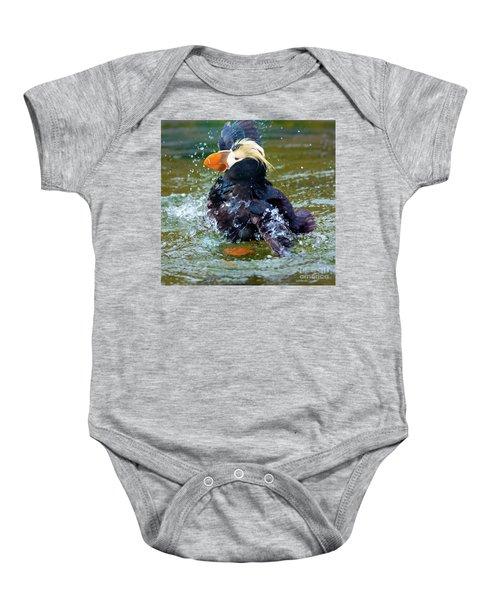 Splish Splash Baby Onesie