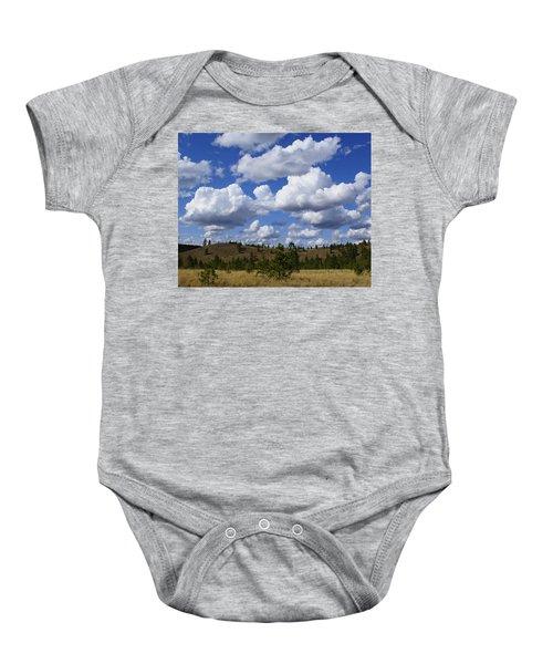Spokane Cloudscape Baby Onesie