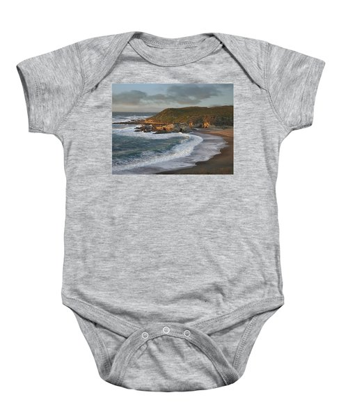 Spooners Cove Montano De Oro State Park Baby Onesie
