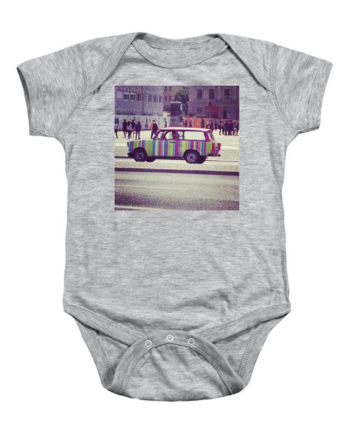 Spotted A Few Of These Doing Tours Baby Onesie