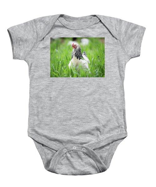 Spring Checken Baby Onesie