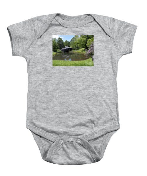 Spring Comes To Mabry Mill Baby Onesie