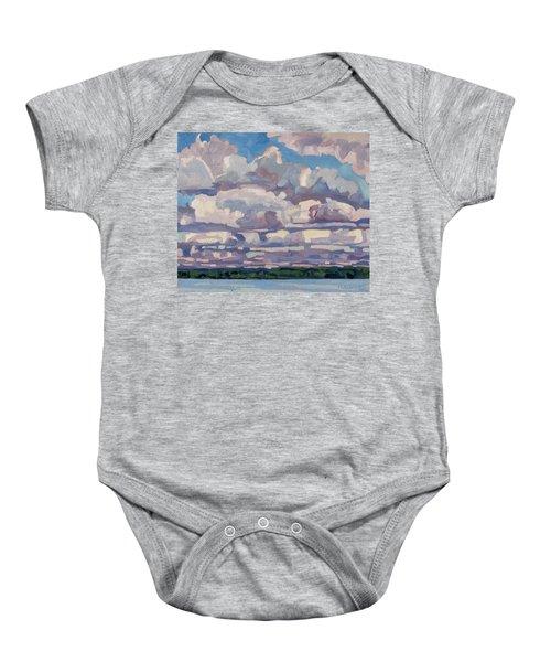 Spring Cumulus Baby Onesie