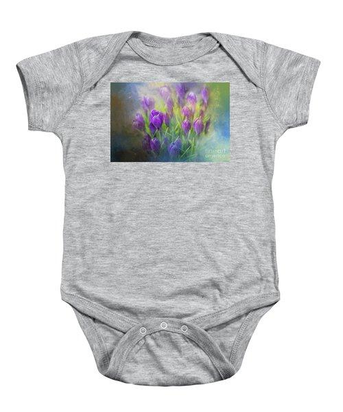 Spring Delight Baby Onesie