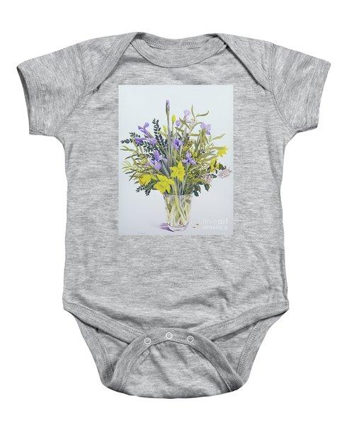 Spring Flowers Baby Onesie