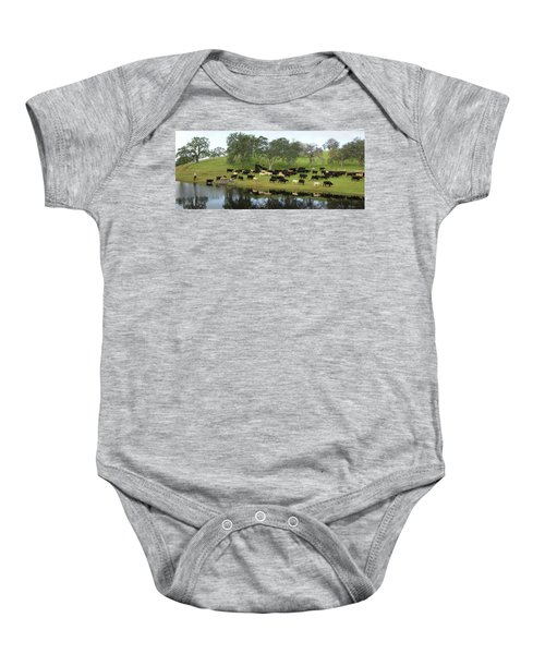 Spring Gather Baby Onesie
