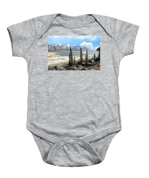 Spring In The Wrangell Mountains Baby Onesie