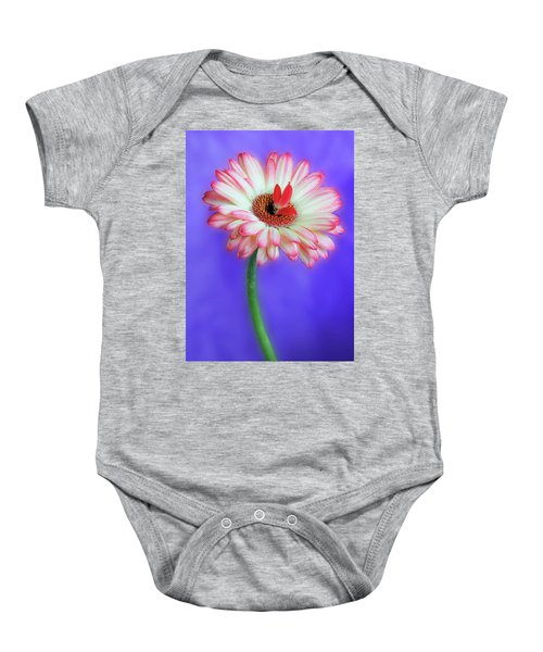 Sprouting Dahlia Baby Onesie