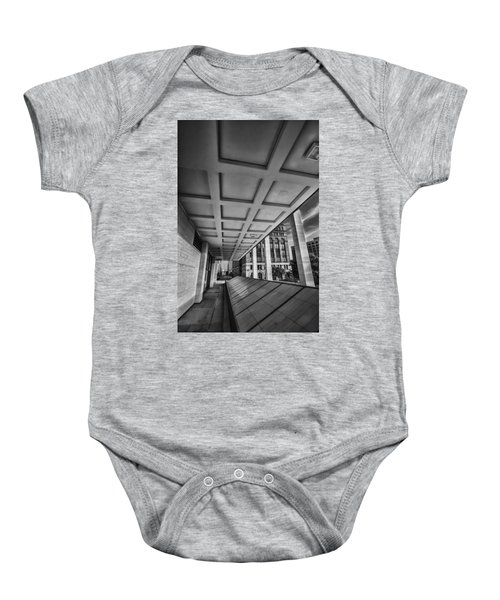 Squares Of Architecture   Baby Onesie
