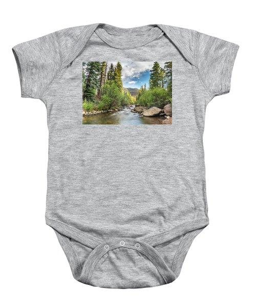 Squaw Creek, Colorado Baby Onesie