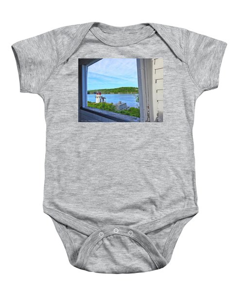Squirrel Point View From The Deck Baby Onesie