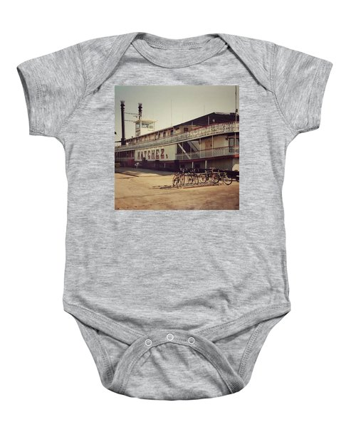 Ss Natchez, New Orleans, October 1993 Baby Onesie