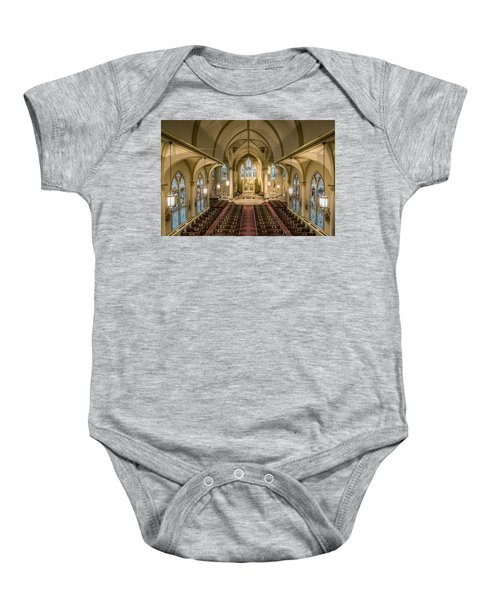 St. Francis Xavier Cathedral Baby Onesie