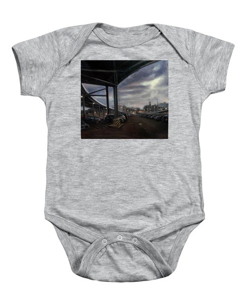 St. George From The Staten Island Ferry Terminal Baby Onesie