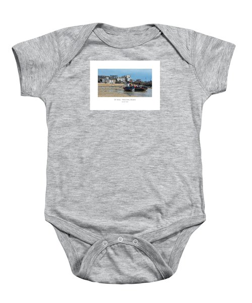 St Ives - Waiting Boats Baby Onesie