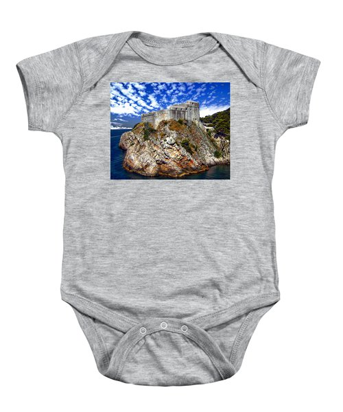 St. Lawrence Fortress Baby Onesie