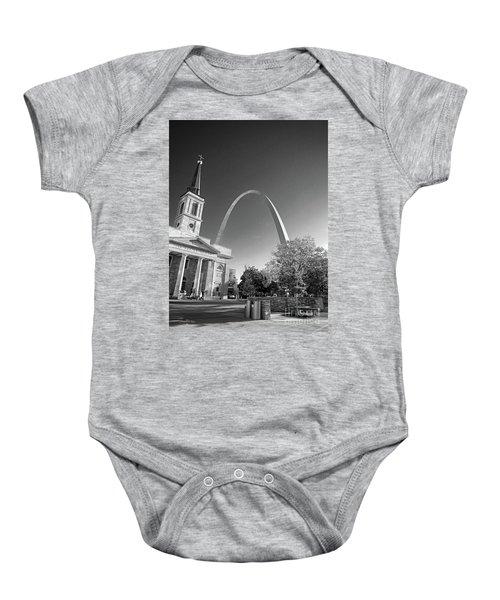 St. Louis Arch Baby Onesie