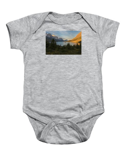 St. Mary Lake Baby Onesie by Gary Lengyel