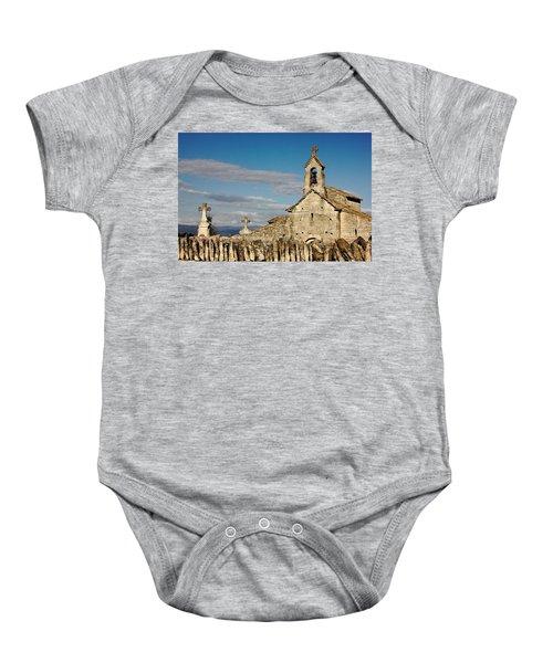 St. Pantaleon Church,  Luberon, France Baby Onesie