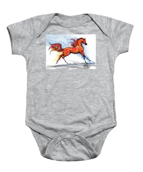 Staceys Arabian Horse Baby Onesie
