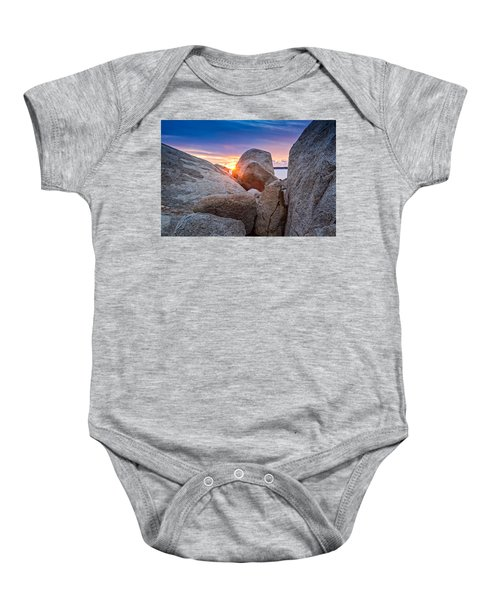 Stage Fort Park Gloucester Baby Onesie