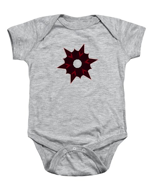Star Record No. 6 Baby Onesie by Stephanie Brock
