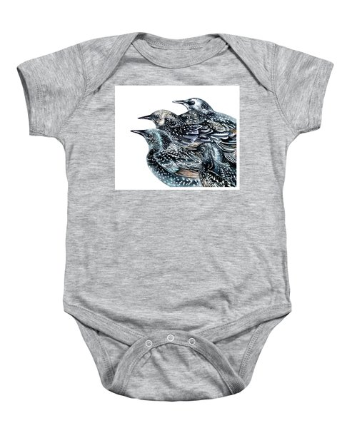 Starlings Baby Onesie