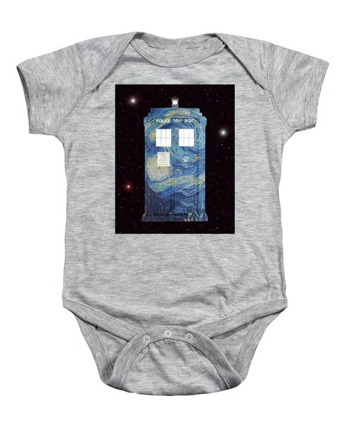 Starry Starry Night Baby Onesie