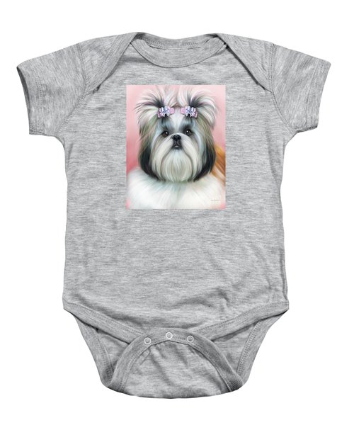 Stassi The Tzu Baby Onesie