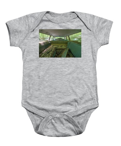 Station Wagon In Color Baby Onesie