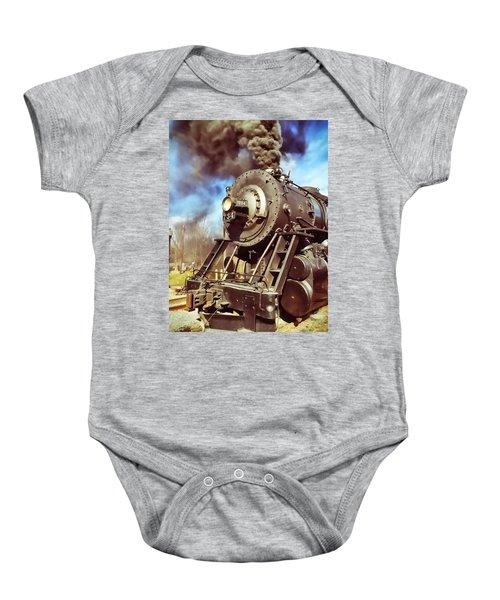 Steam Engine Baby Onesie