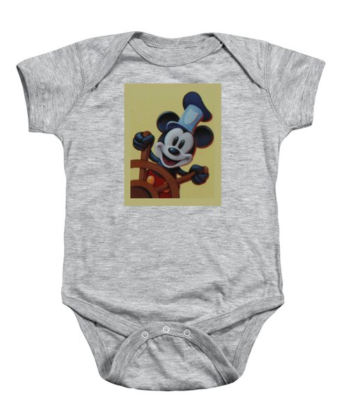 Steamboat Willy Baby Onesie