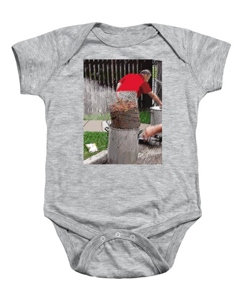 Steaming Mud Bugs For Falvor Baby Onesie