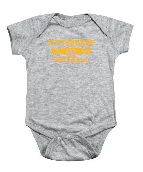 Steelers Retro Shirt Baby Onesie
