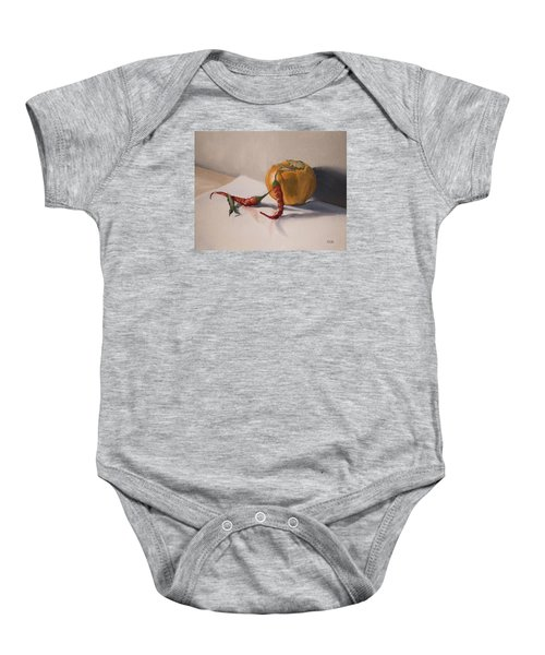 Still Life With Produce Baby Onesie