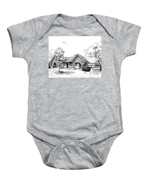 Stone Ave. Train Station Baby Onesie