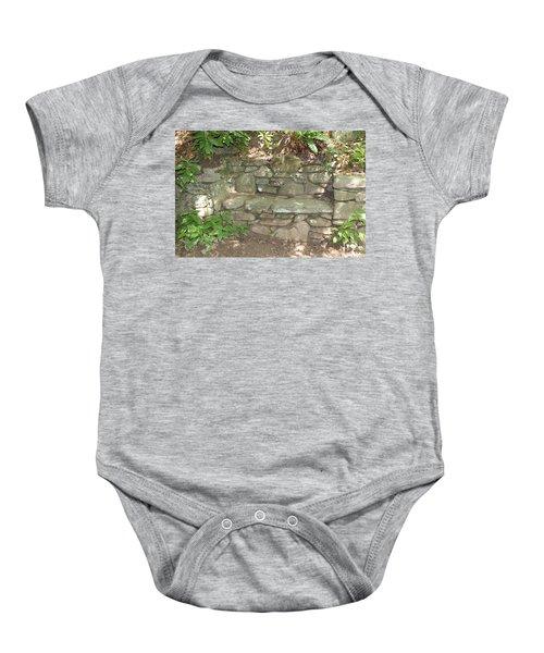 Stone Bench Baby Onesie